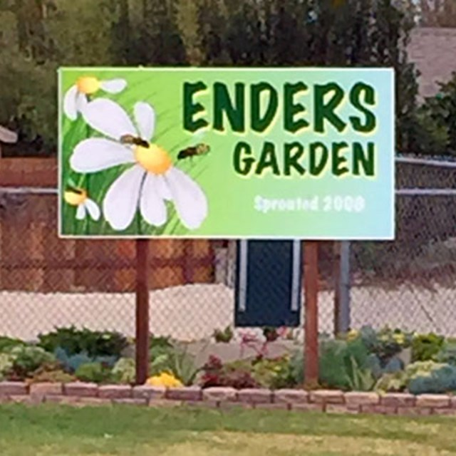 Enders Garden embraces environmental care in our lovely community!